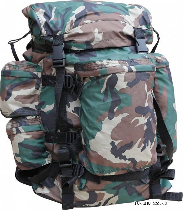 рюкзак камуфлированный поясная сумка.