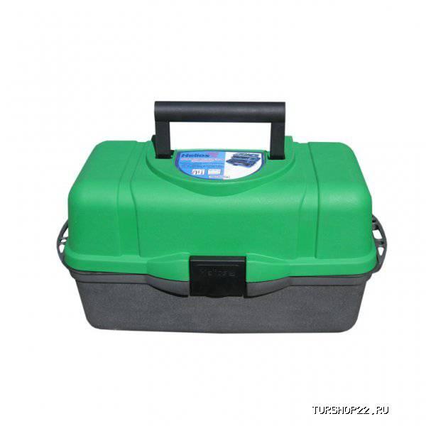 699f14fad6f8 Купить Ящик для инструментов трехполочный зеленый Helios, шт в Барнауле